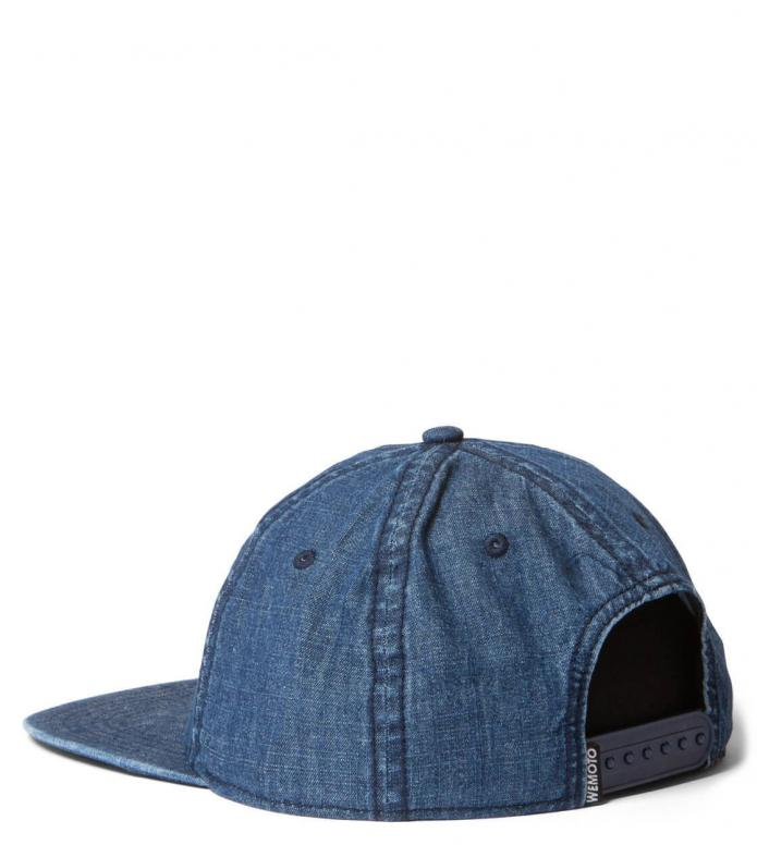 Wemoto Wemoto 6 Panel Cap Colors blue denim