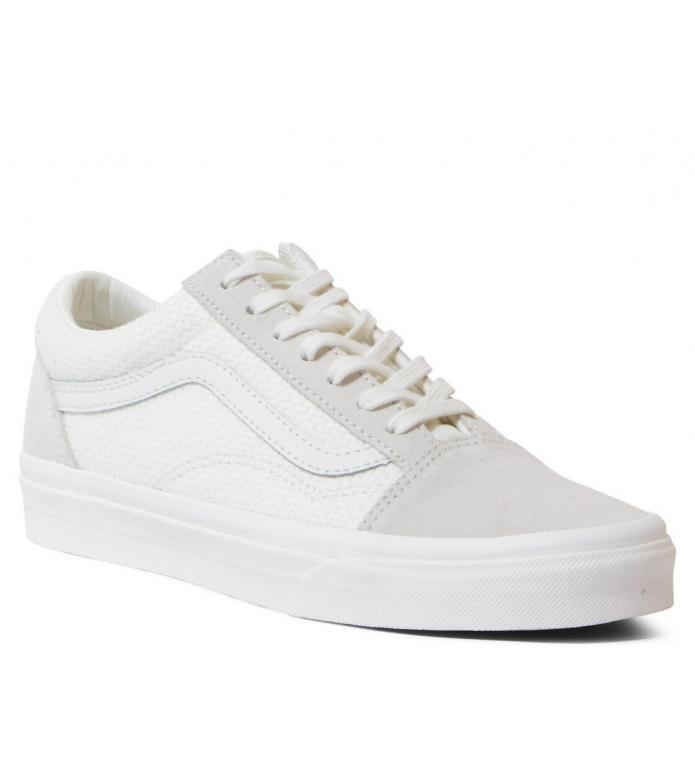 Vans Vans W Shoes Old Skool Woven Check white marshmallow/snow white