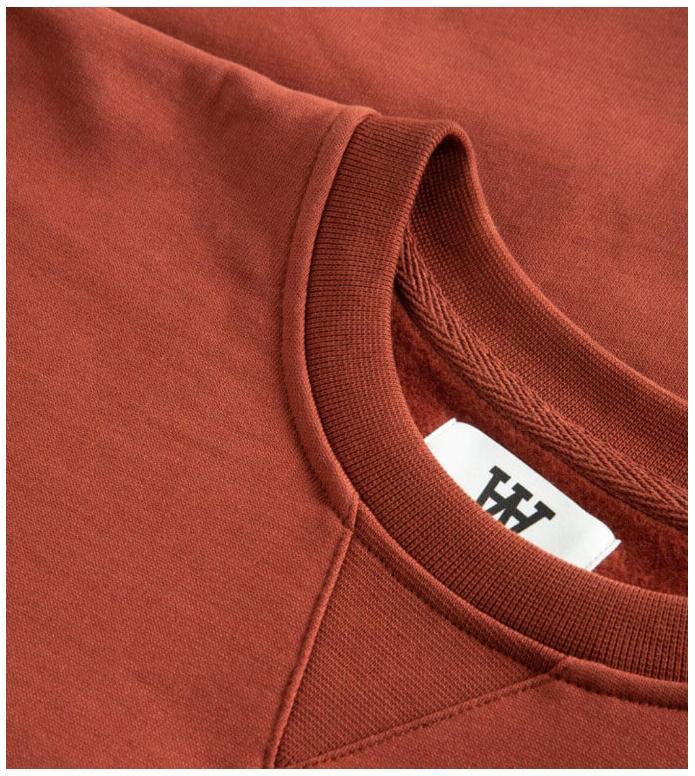 Wood Wood Wood Wood Sweater Tye red dark