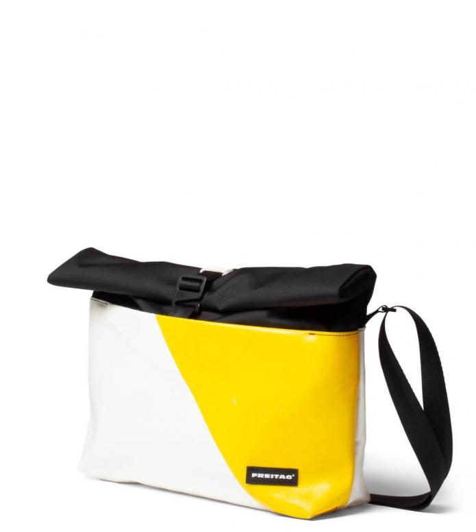 Freitag Freitag ToP Bag Rollin white/yellow