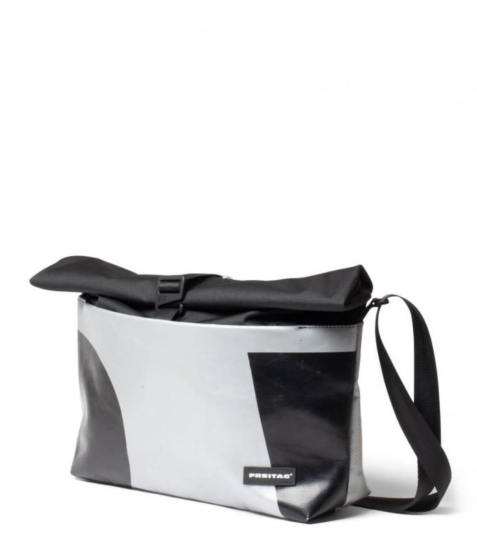Freitag Freitag ToP Bag Rollin silver/black