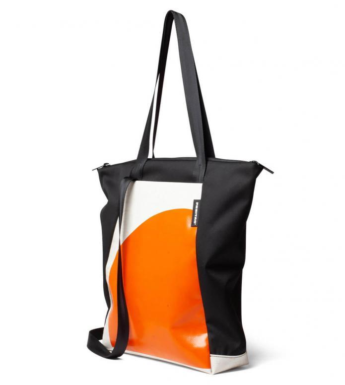 Freitag Freitag ToP Tote Bag Davian orange/white