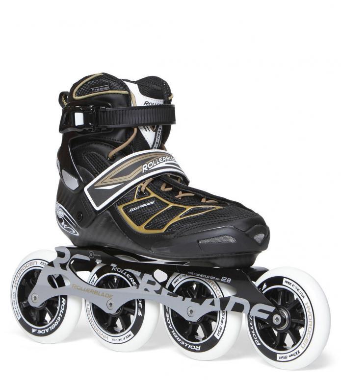 Rollerblade Rollerblade W Tempest 100 black/gold