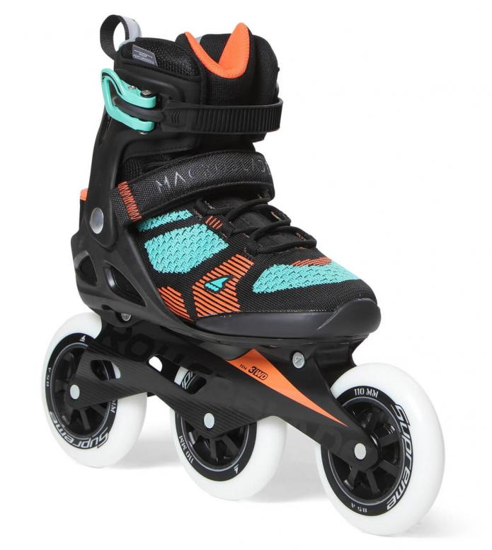 Rollerblade Rollerblade W Macroblade 3WD 110 black/green light