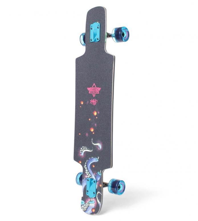 Dusters Dusters Longboard Okto black/blue