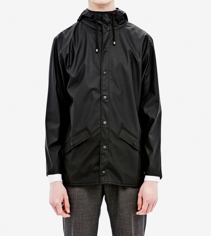 Rains Rains Rainjacket Short black