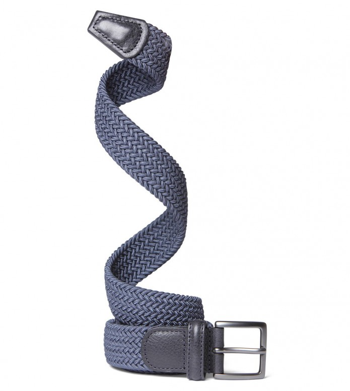 Andersons Andersons Belt Woven blue light