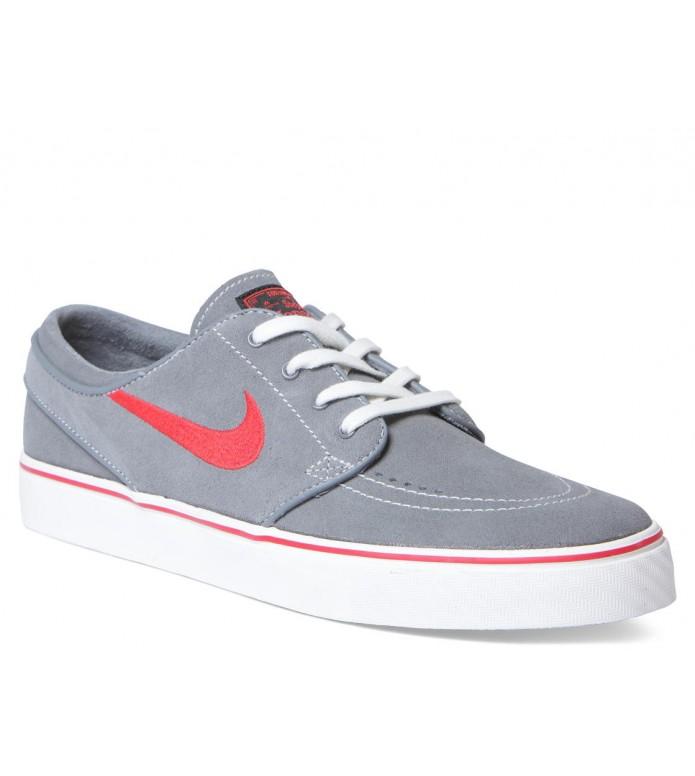 Nike SB Nike SB Shoes Janoski grey cl/black university red-cl grey