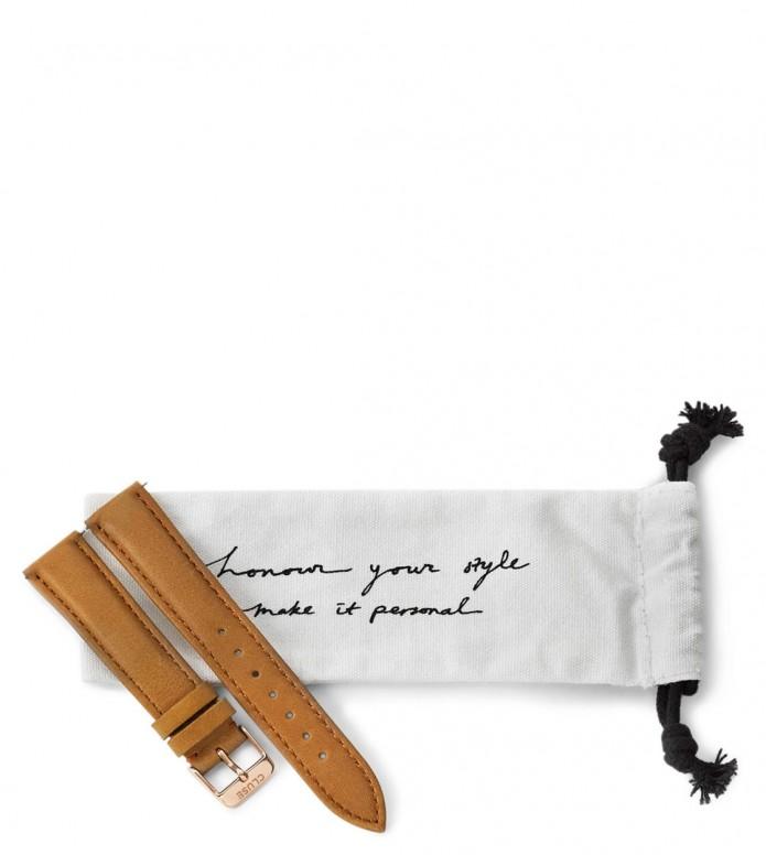 Cluse Cluse Strap La Boheme brown caramel/rose gold