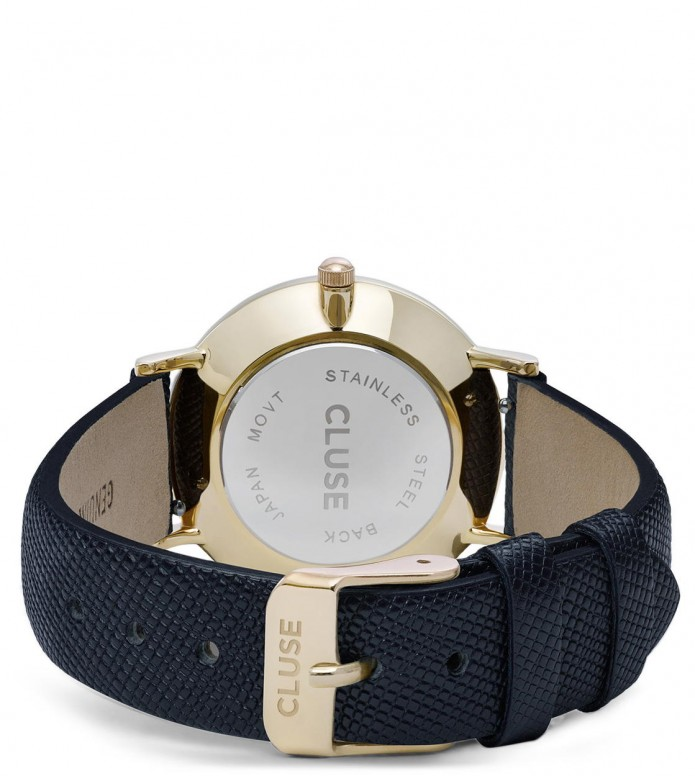 Cluse Cluse Watch Minuit blue midnight/black gold