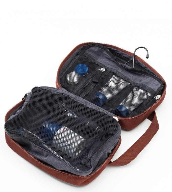 Qwstion Qwstion Washbag Toiletry Kit organic redwood