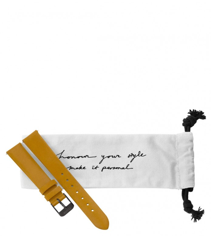 Cluse Cluse Strap Minuit yellow mustard/black full