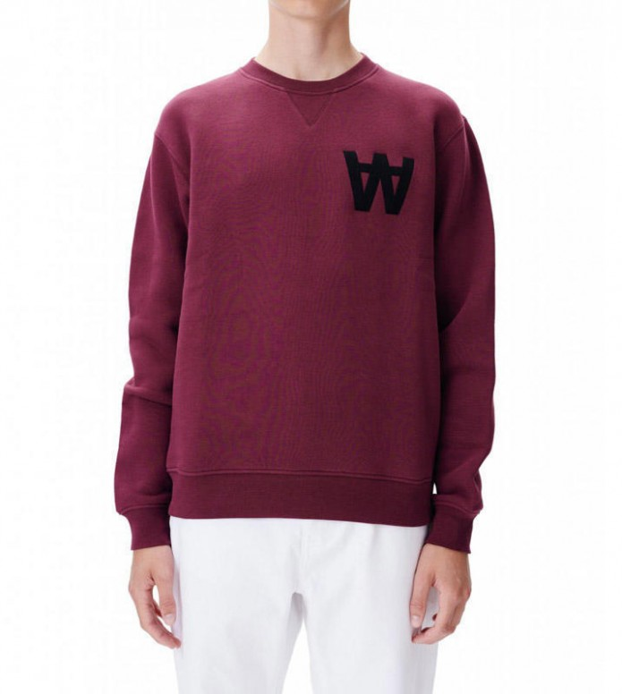 Wood Wood Wood Wood Sweater Houston red aaportroy