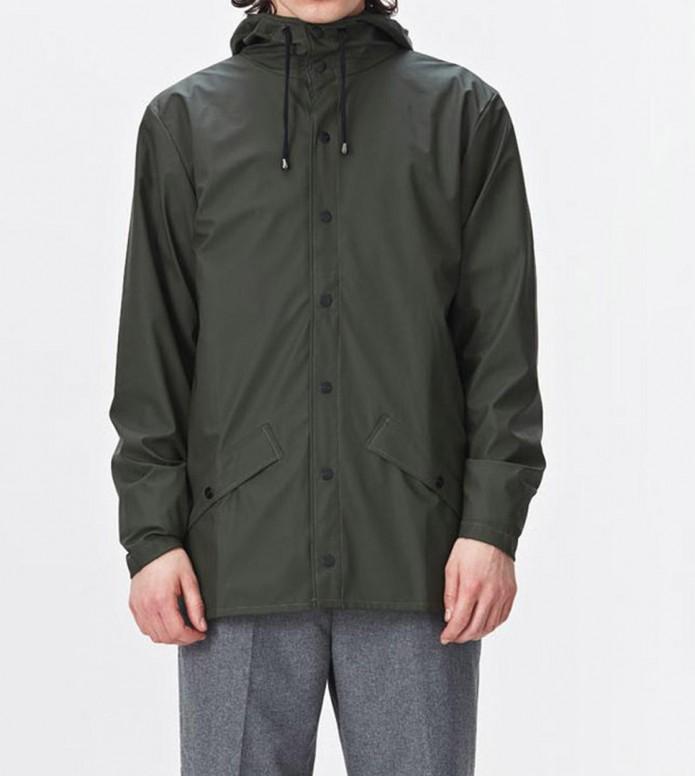 Rains Rains Rainjacket Short green