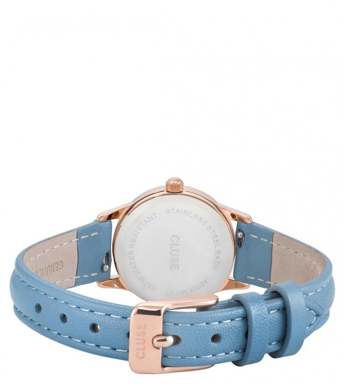 Cluse Cluse Watch La Vedette blue retro/white rosegold