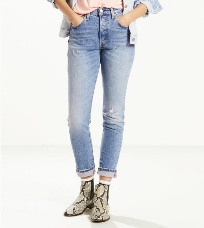 Levis Levis W Jeans 501 Skinny blue post modern blues