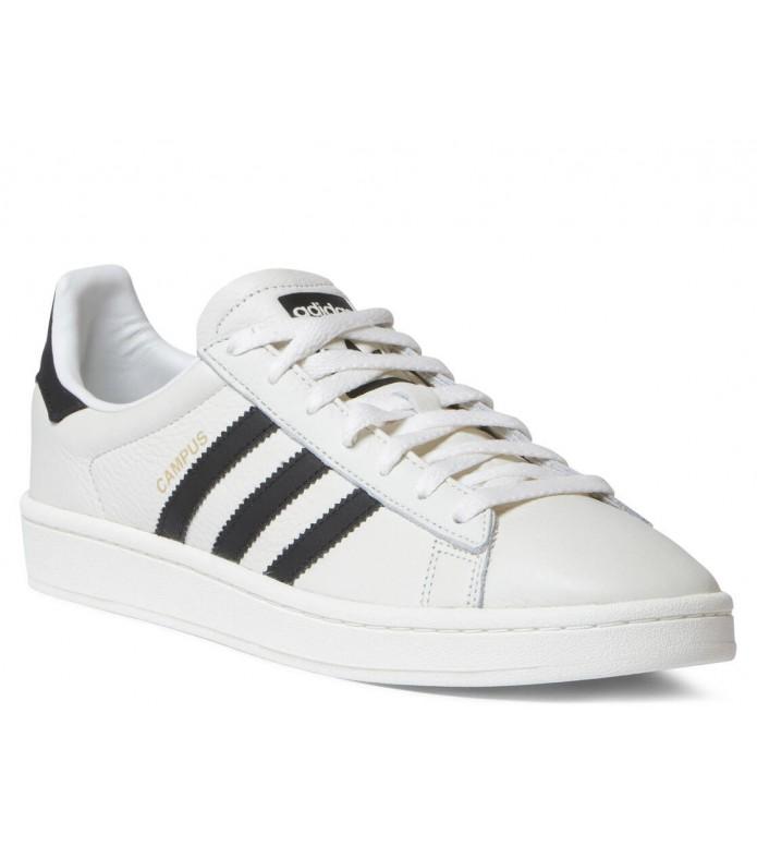 adidas Originals Adidas Shoes Campus white chalk/core black/cream white