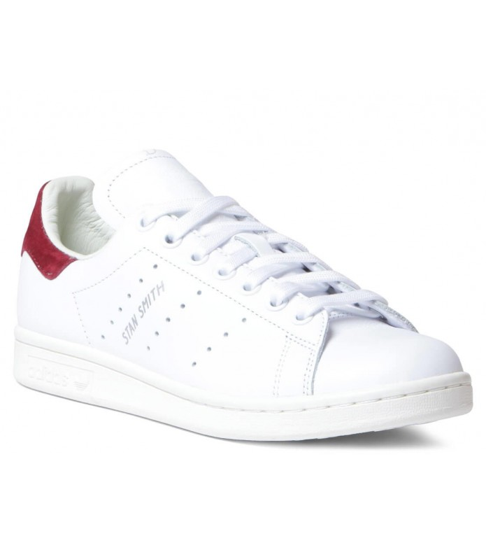 adidas Originals Adidas W Shoes Stan Smith white footwear/footwear white/burgundy