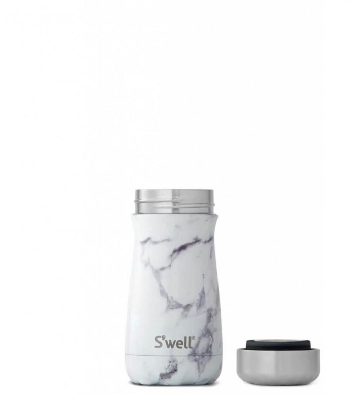 Swell Swell Bottle Traveler SM grey elements white marble