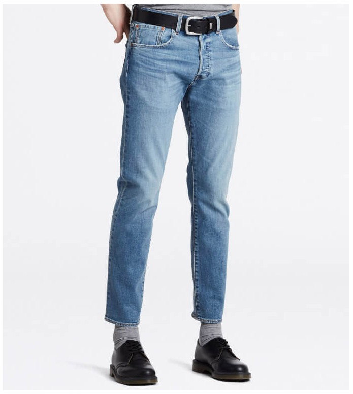 Levis Levis Jeans 501 Slim Taper blue ironwood overt