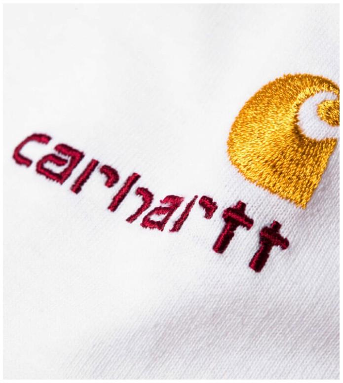 Carhartt WIP Carhartt WIP Longsleeve American Script white