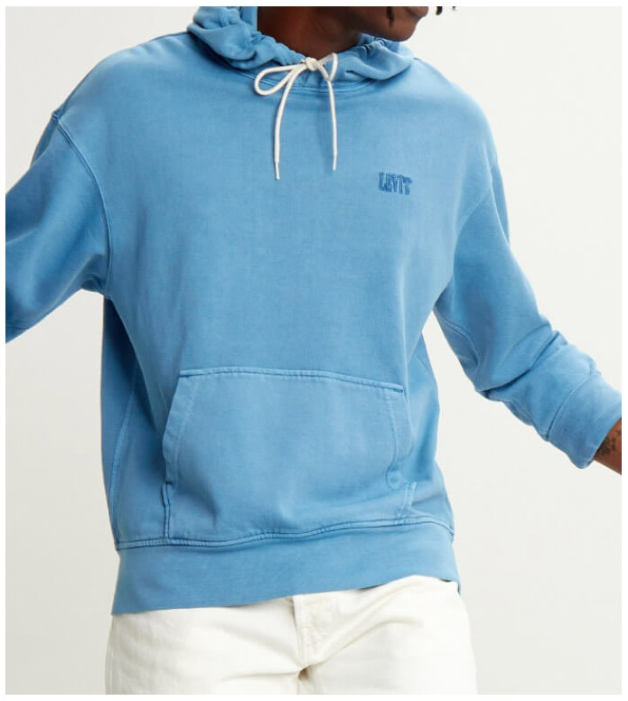 Levis Levis Hooded Sweater Authentic blue riverside
