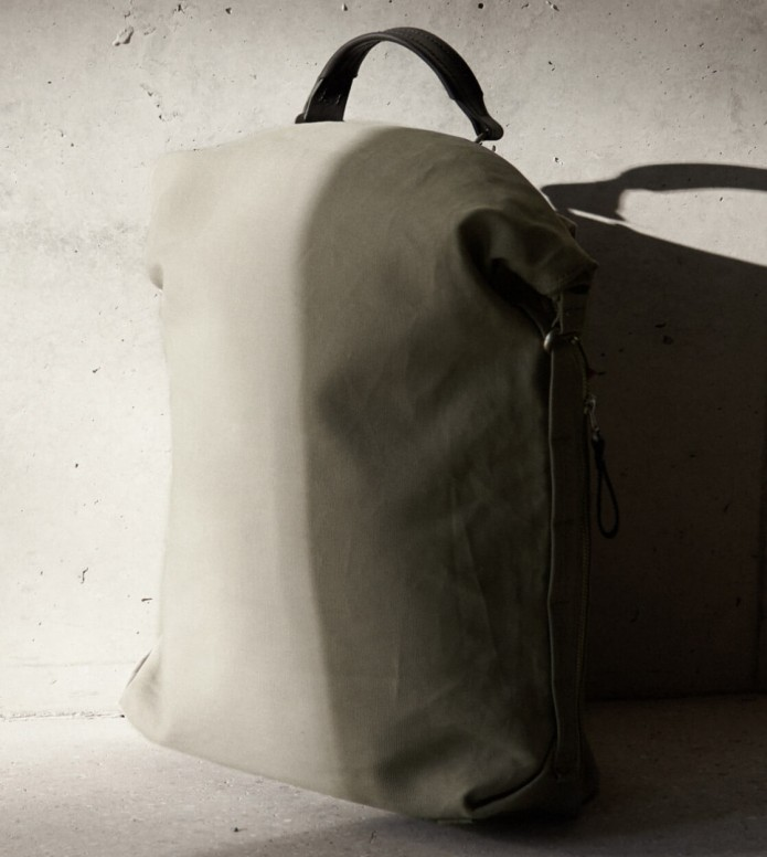 Qwstion Qwstion Backpack Roll Pack limestone