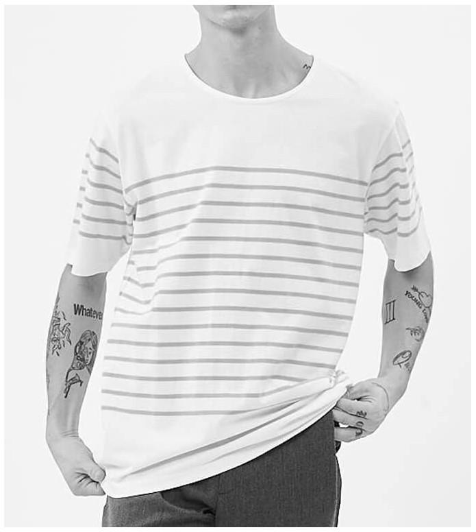 Minimum Minimum T-Shirt Balser white true navy