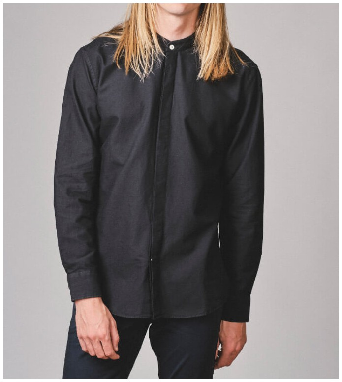 Klitmoller Collective Klitmoller Shirt Simon black