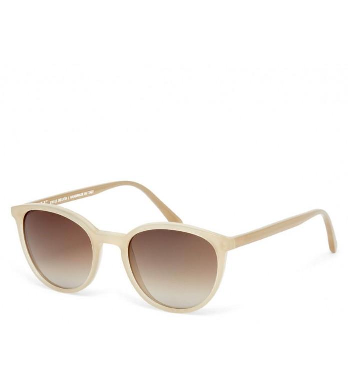 Viu Viu Sunglasses Kitten creamy olive shiny