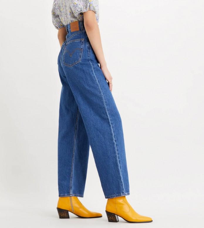 Levis Levis W Jeans High Loose blue lazy sunday