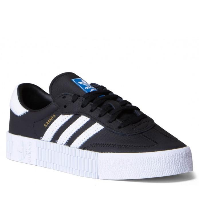 adidas Originals Adidas W Shoes Sambarose black core/cloud white/blue bird