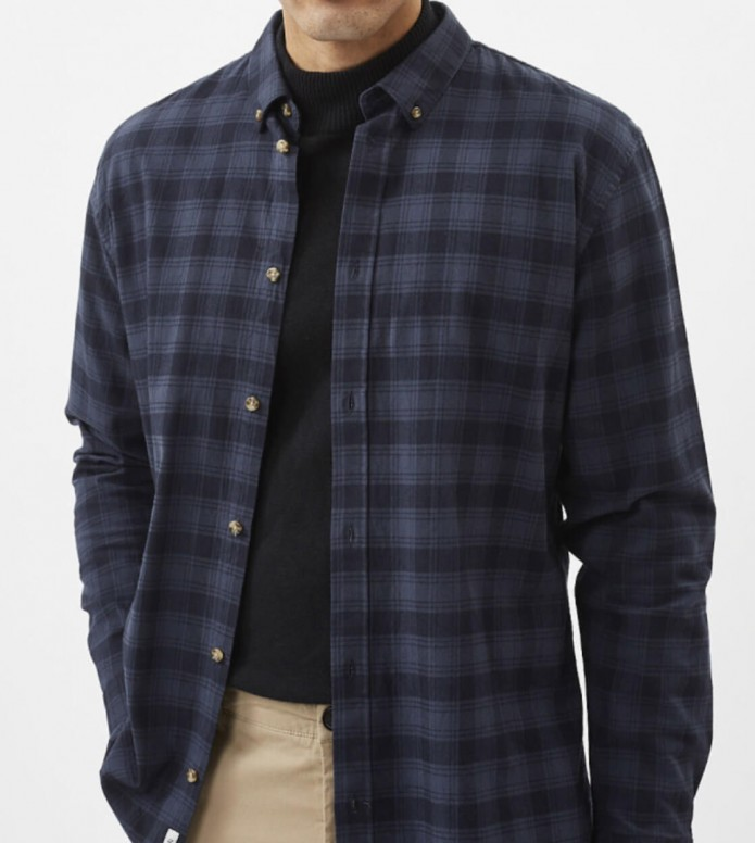 Minimum Minimum Shirt Walther blue dark saphire