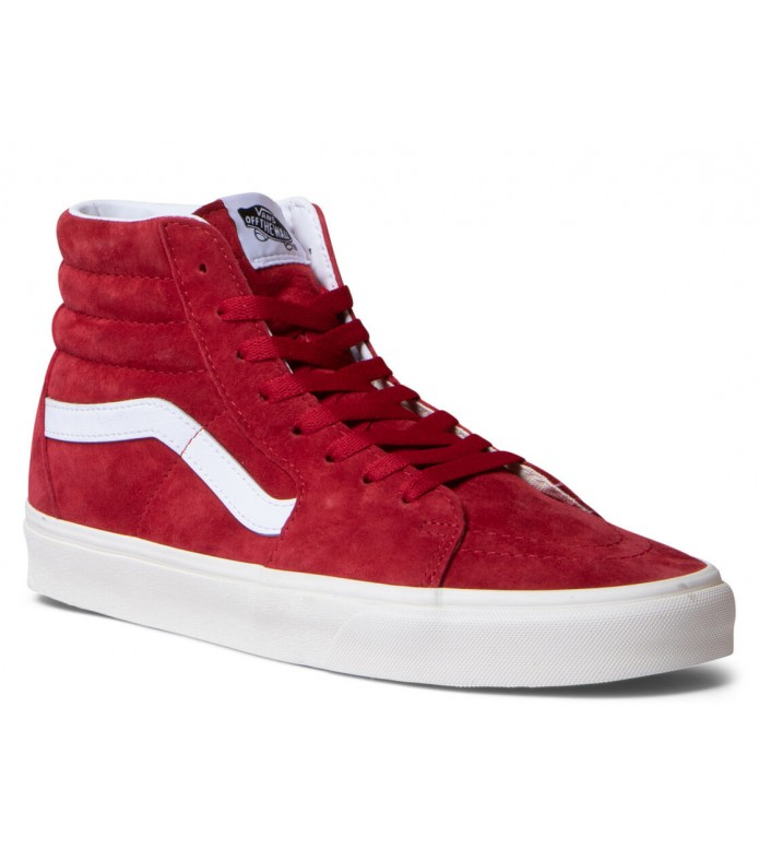 Vans Vans Shoes Sk8-Hi red chilli pepper/true white