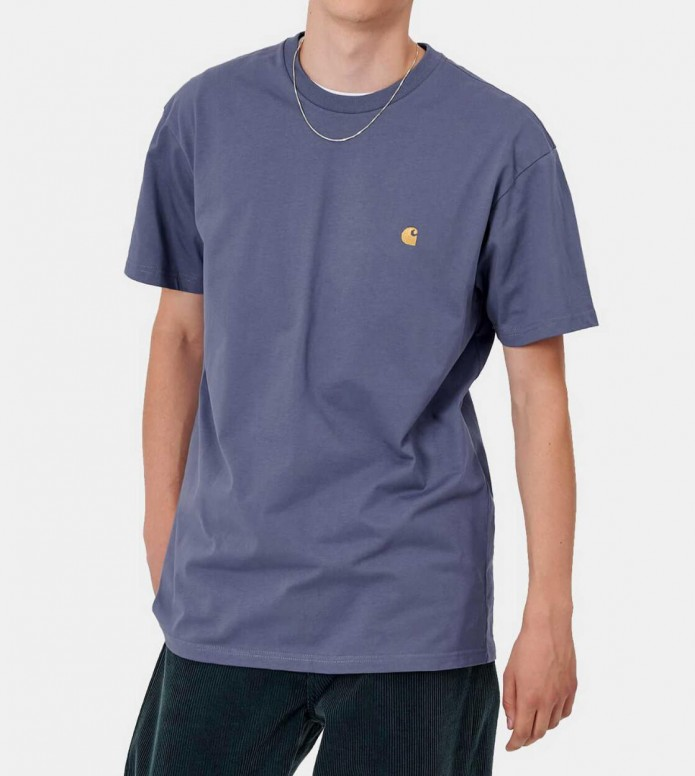 Carhartt WIP Carhartt WIP T-Shirt Chase purple cold viola
