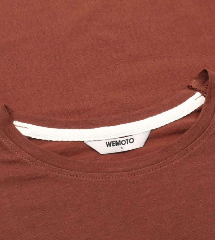 Wemoto Wemoto W Longsleeve Kimbo brown maroon