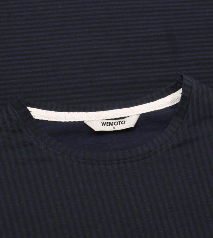 Wemoto Wemoto W Longsleeve Kimbo blue navy-black