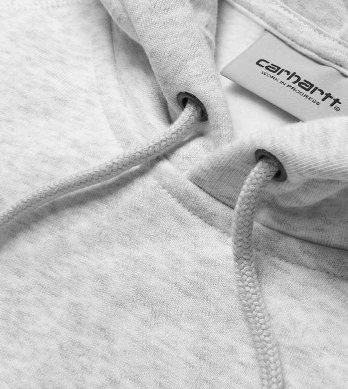 Carhartt WIP Carhartt WIP Hooded Sweater Chase white/gold