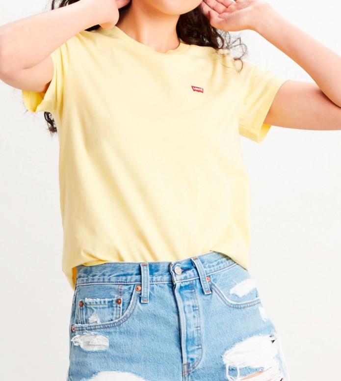 Levis Levis W T-Shirt Perfect Tee yellow lemon meringue