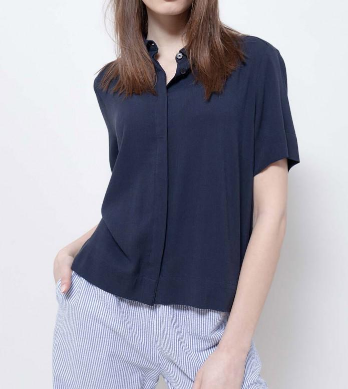 Wemoto Wemoto W Shirt Mari blue navy