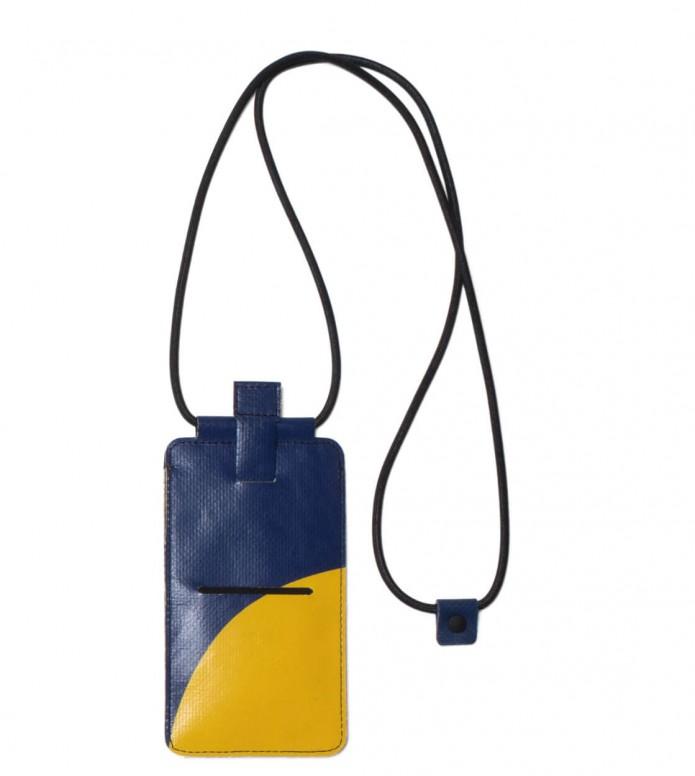 Freitag Freitag Myphone Pouch Robin yellow/blue
