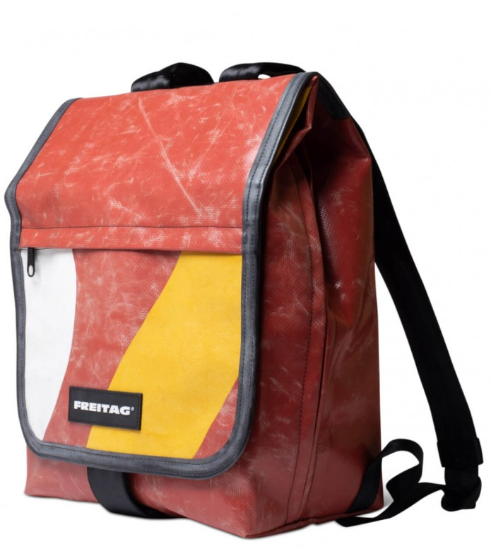 Freitag Freitag Backpack Bonanza red/white/yellow