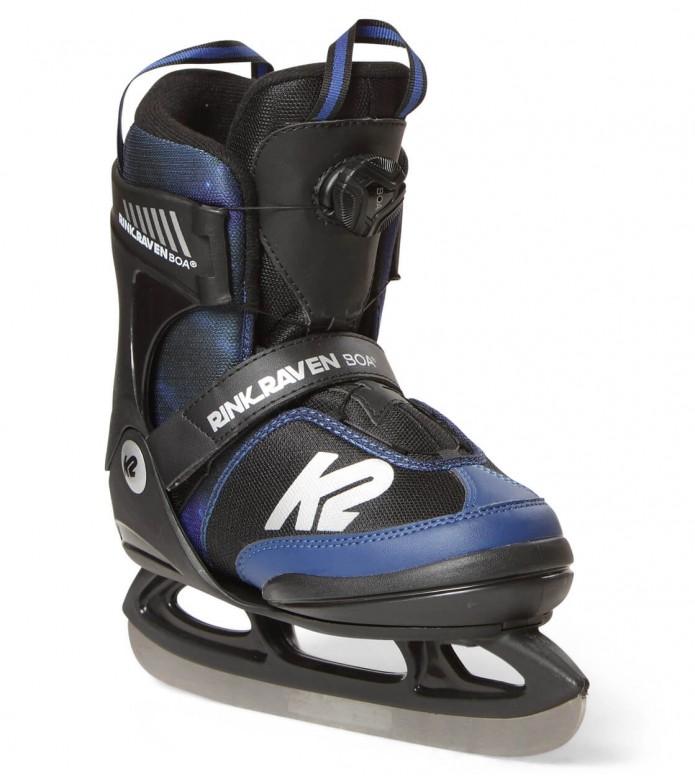 K2 K2 Ice Rink Raven Boa black/blue