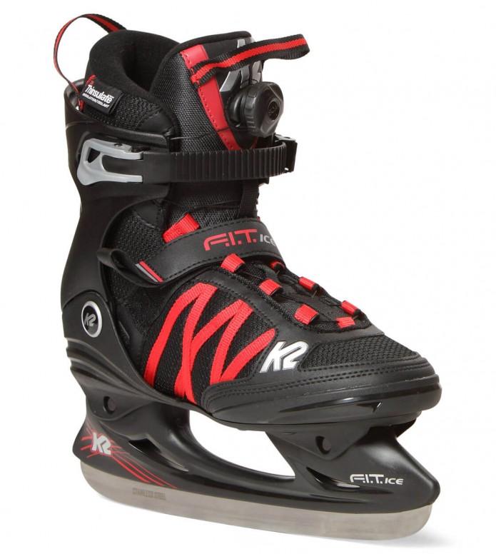 K2 K2 Ice F.I.T BOA black/red