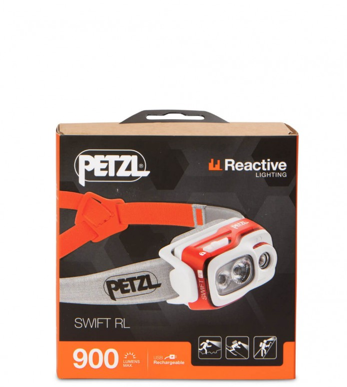 Petzl Petzl Stirnlampe Swift RL orange