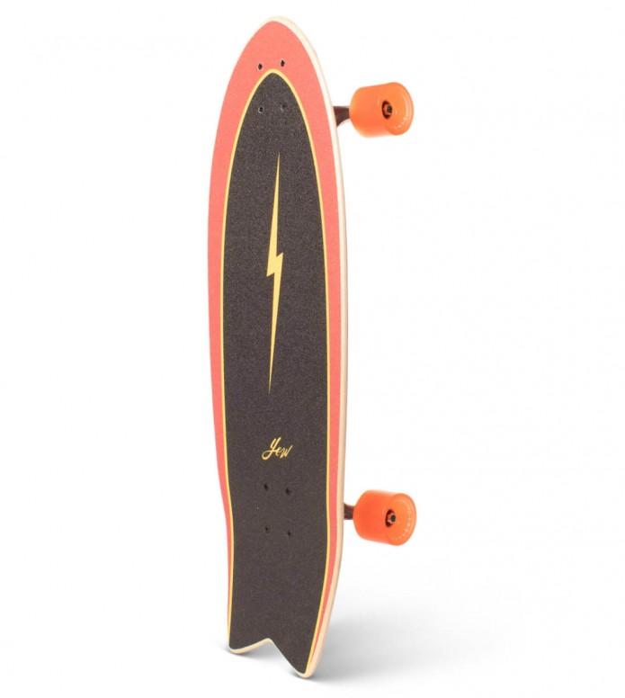 YOW Yow Street-Surfing Cruiser Power Surfing red/gold