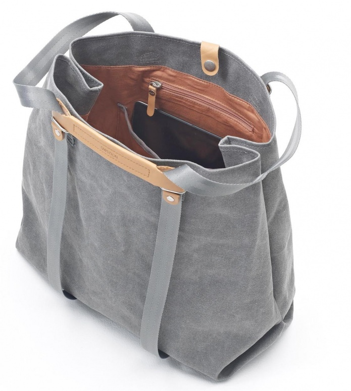 Qwstion Qwstion Bag Shopper washed grey