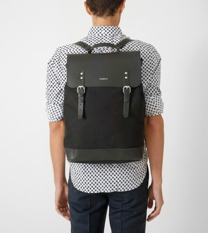 Sandqvist Sandqvist Backpack Hege black