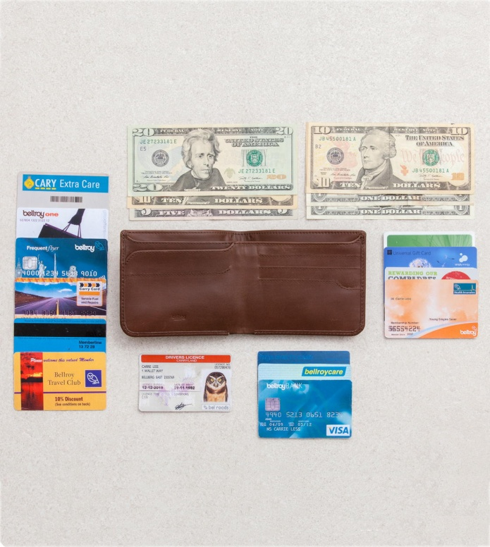 Bellroy Bellroy Wallet Hide & Seek brown cocoa