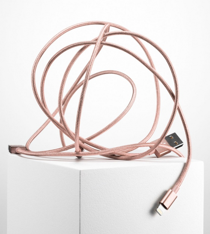 Le Cord Le Cord Charge & Sync Cable pink rose gold